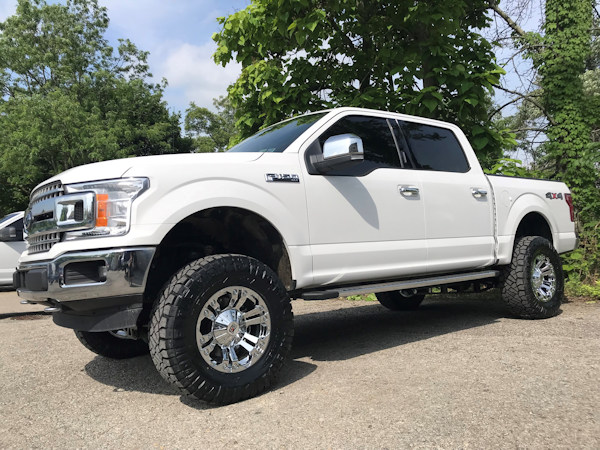 2018 Ford F150, 6in. Rough Country Lift, 18x9 XD Monster's and 35x12.50x20 Nitto Ridge Grapplers
