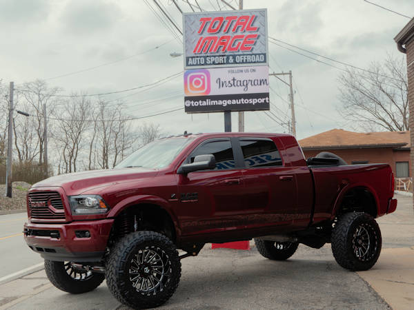 2018 Ram2500 Mega Cab, with 8IN. BDS 4-Link Lift Kit, 22x12 Tis 547'S & 38X12.50X22 Nitto Trail Grapplers