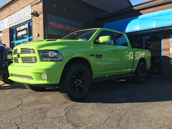 2017 Ram 1500 with Bilstein 5100 leveling struts and 35x12.50x20 Atturo Trail Blade XT tires