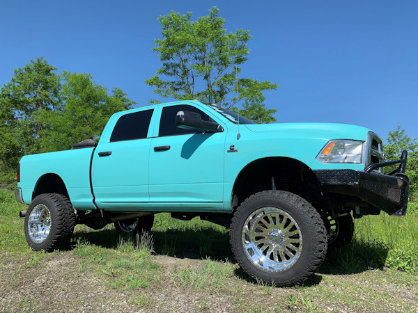 Ram 2500  with 6.5in Zoneoffroad lift, 22x12 American Force's and 37x13.50x22 Radar R7 M/T's